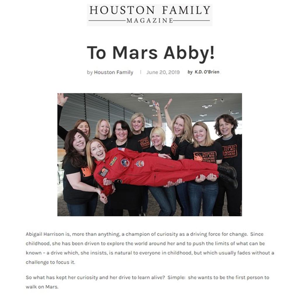 Astro Abby Houston Family