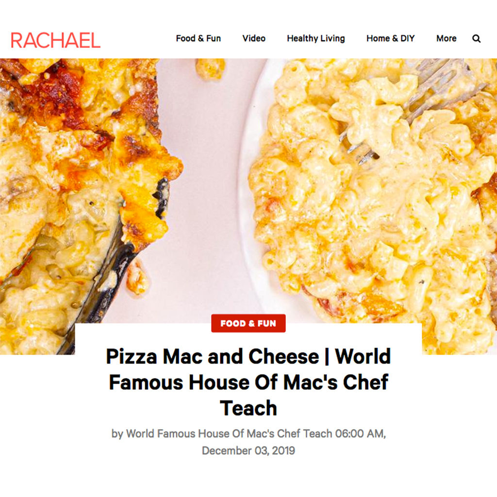 World Famous House Of Mac Rachael Ray